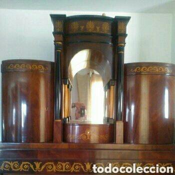 Antigüedades: ---- EXCLUSIVO MUEBLE ESTILO BIEDERMEIER, CON PRECIOSA MARQUETERIA. 1.980 - Foto 3 - 147663409