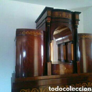 Antigüedades: ---- EXCLUSIVO MUEBLE ESTILO BIEDERMEIER, CON PRECIOSA MARQUETERIA. 1.980 - Foto 4 - 147663409