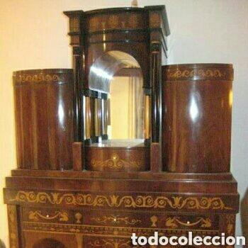 Antigüedades: ---- EXCLUSIVO MUEBLE ESTILO BIEDERMEIER, CON PRECIOSA MARQUETERIA. 1.980 - Foto 8 - 147663409