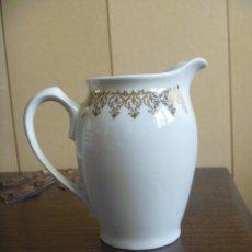 Antigüedades: LECHERA TE CAFÉ PRECIOSO RIBETE DORADO ORO. Lote 147712770