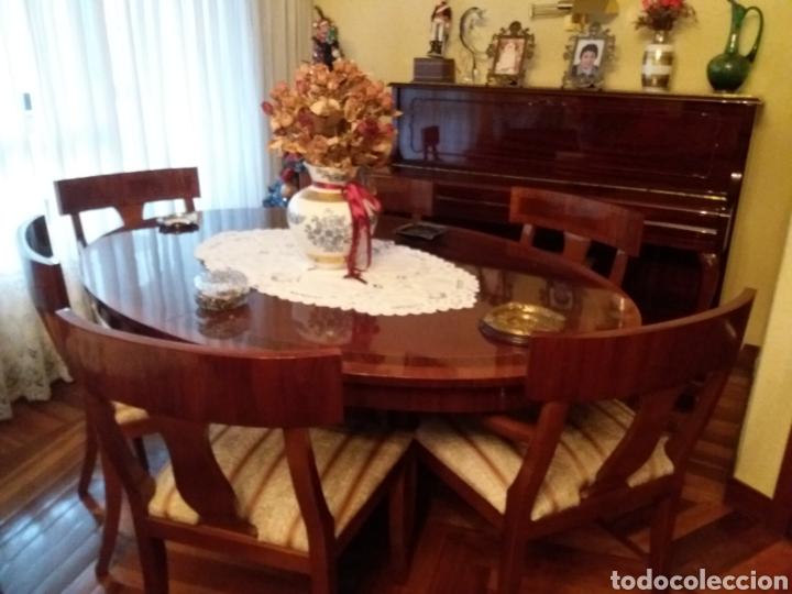 mesa comedor y 6 sillas - Comprar Mesas Antiguas en todocoleccion ...