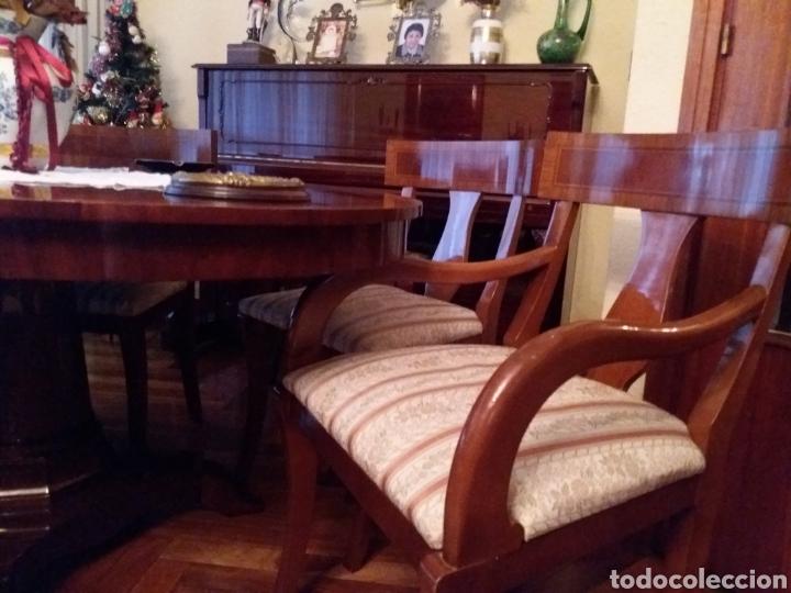 Antigüedades: Mesa comedor y 6 sillas - Foto 3 - 147727061