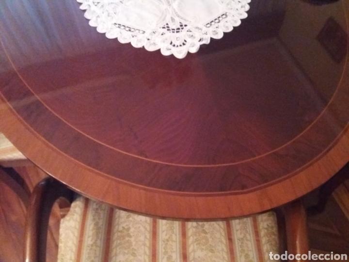 Antigüedades: Mesa comedor y 6 sillas - Foto 4 - 147727061