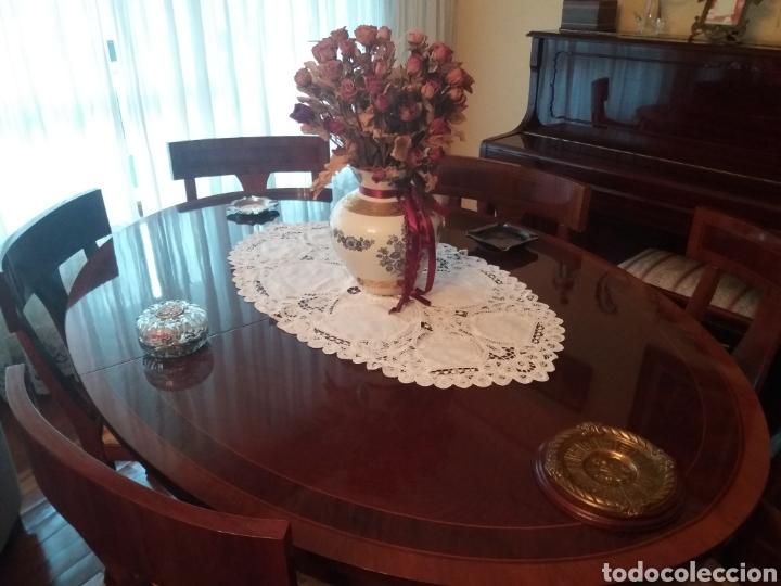 Antigüedades: Mesa comedor y 6 sillas - Foto 5 - 147727061