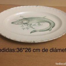 Antigüedades: BANDEJA CERAMICA PONTESA. Lote 147730166