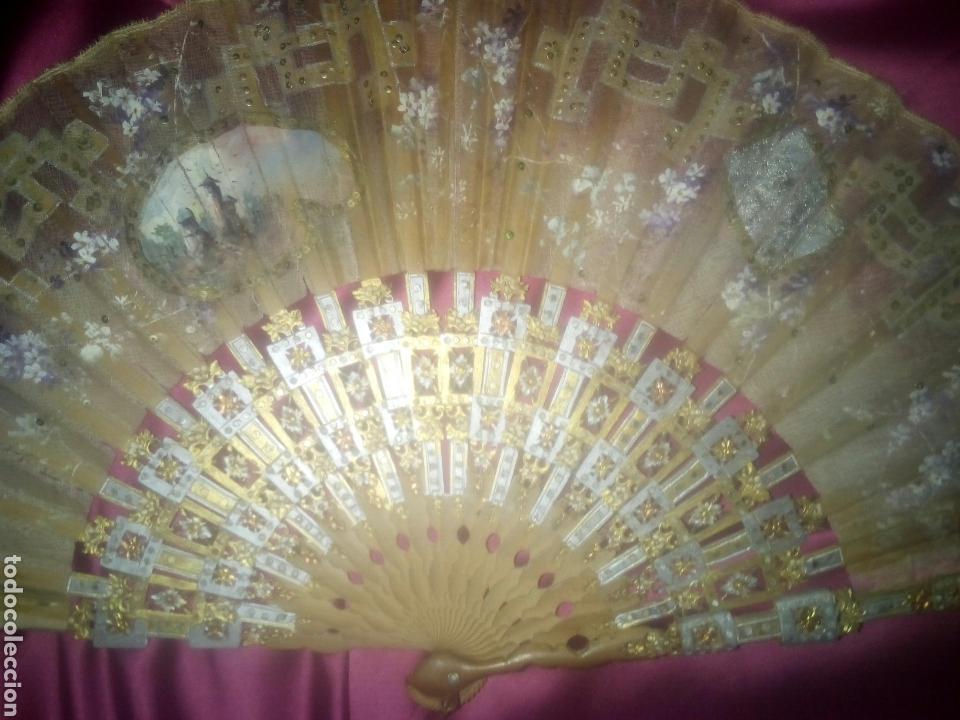 Antiquitäten: ABANICO ESTILO ITALIANO 1760 A 1790 - Foto 11 - 147730700