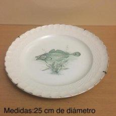 Antigüedades: PLATO CERAMICA PONTESA. Lote 147733490
