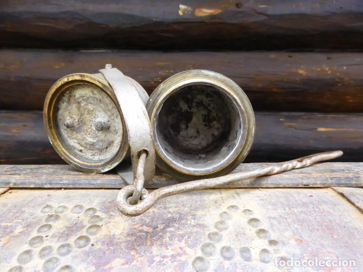 Antigüedades: LÁMPARA DE ACETILENO (CARBURO )MINA, MINERIA. - Foto 2 - 147743466