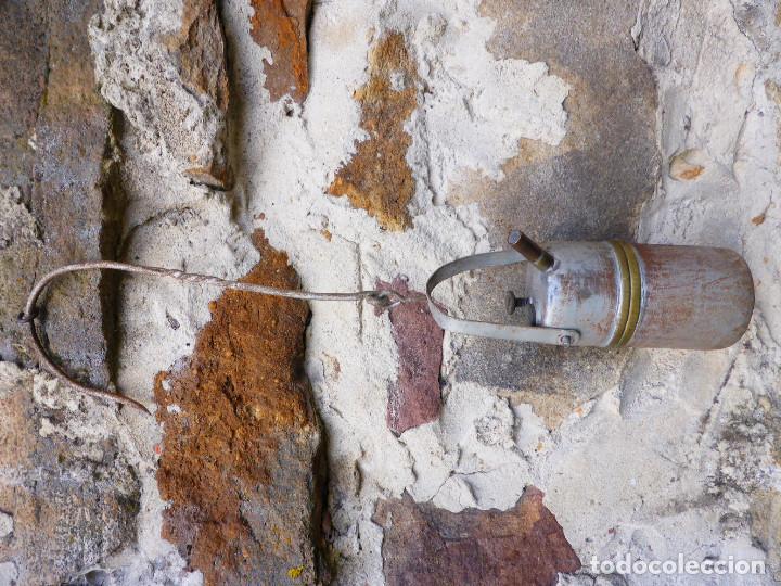 Antigüedades: LÁMPARA DE ACETILENO (CARBURO )MINA, MINERIA. - Foto 4 - 147743466