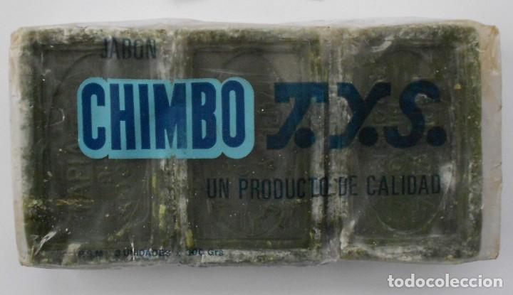 ANTIGUO PAQUETE CON 3 PASTILLAS JABON CHIMBO T.Y.S.(BILBAO) (Antigüedades - Técnicas - Rústicas - Utensilios del Hogar)