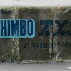 Antigüedades: ANTIGUO PAQUETE CON 3 PASTILLAS JABON CHIMBO T.Y.S.(BILBAO). Lote 147744230
