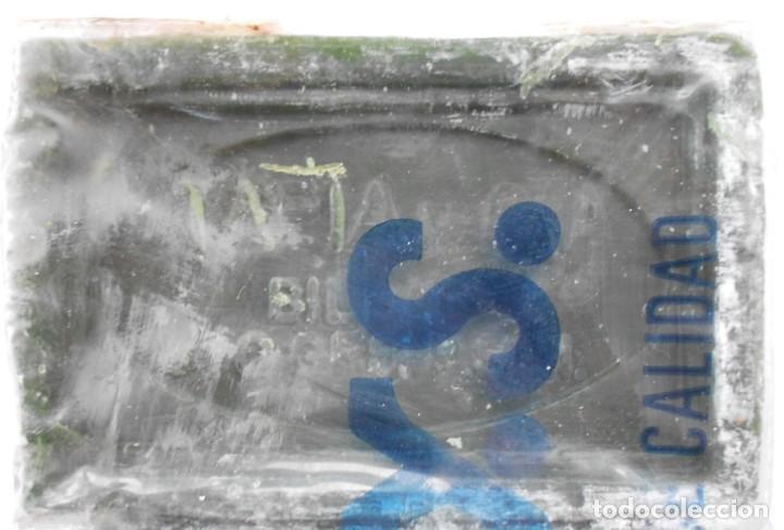 Antigüedades: ANTIGUO PAQUETE CON 3 PASTILLAS JABON CHIMBO T.Y.S.(BILBAO) - Foto 5 - 147744230