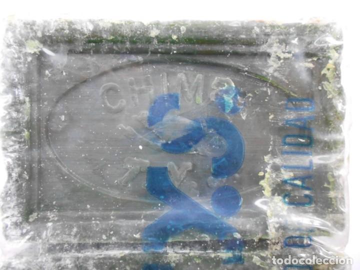 Antigüedades: ANTIGUO PAQUETE CON 3 PASTILLAS JABON CHIMBO T.Y.S.(BILBAO) - Foto 6 - 147744230