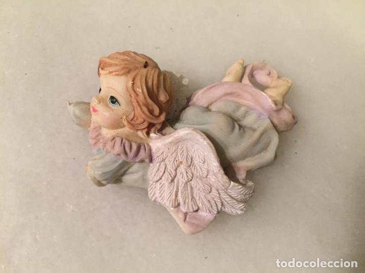 ANTIGUO IMAN DE NEVERA FIGURA DE ANGEL ANGELITO DE LOS AÑOS 70-80 (Antigüedades - Hogar y Decoración - Figuras Antiguas)