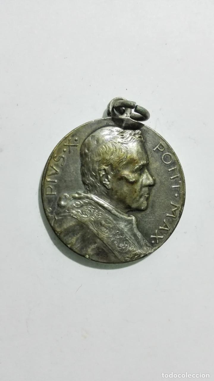 MEDALLA, PIVS X PONT MAX, MEDIDA 2,7 CM (Antigüedades - Religiosas - Medallas Antiguas)