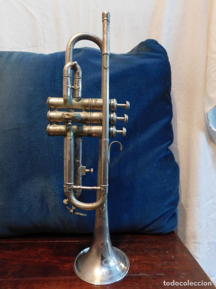 Antigüedades: Trompeta Barcelona, marca Condor años '60 - Foto 2 - 147762534
