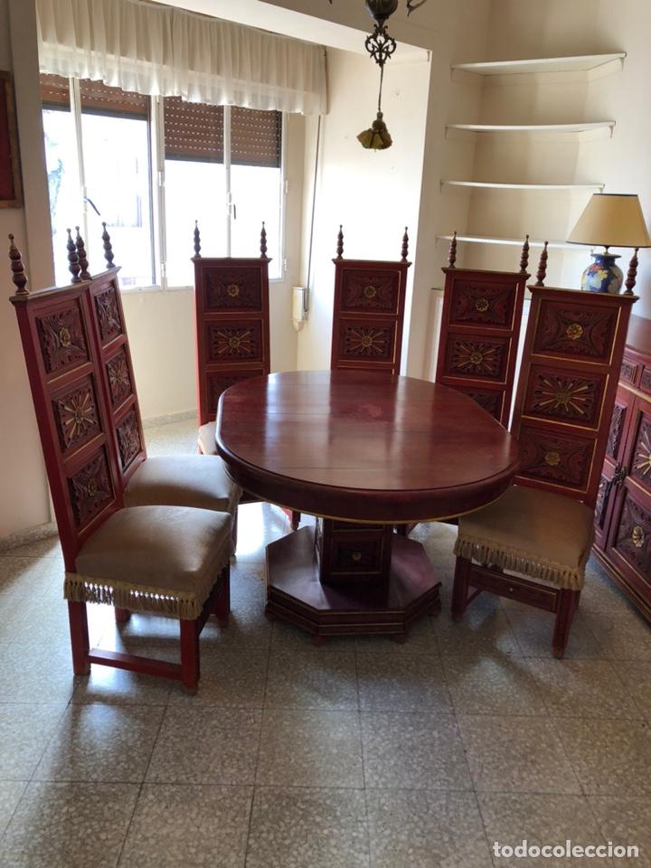 SALÓN COMEDOR ANTIGUO (Antigüedades - Muebles Antiguos - Mesas Antiguas)