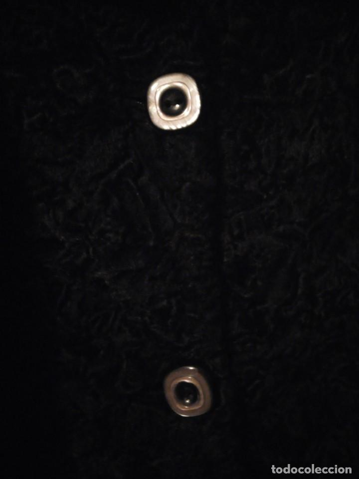 Antigüedades: abrigo de astracán autentico de los años 40-50. - Foto 5 - 147774274