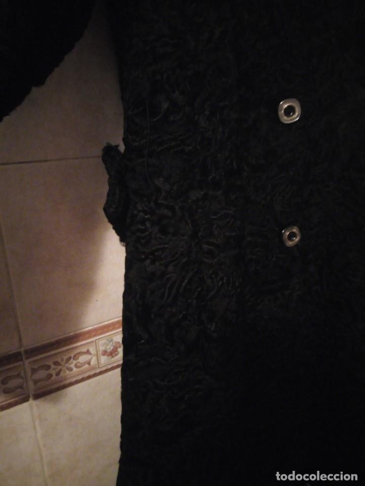 Antigüedades: abrigo de astracán autentico de los años 40-50. - Foto 6 - 147774274