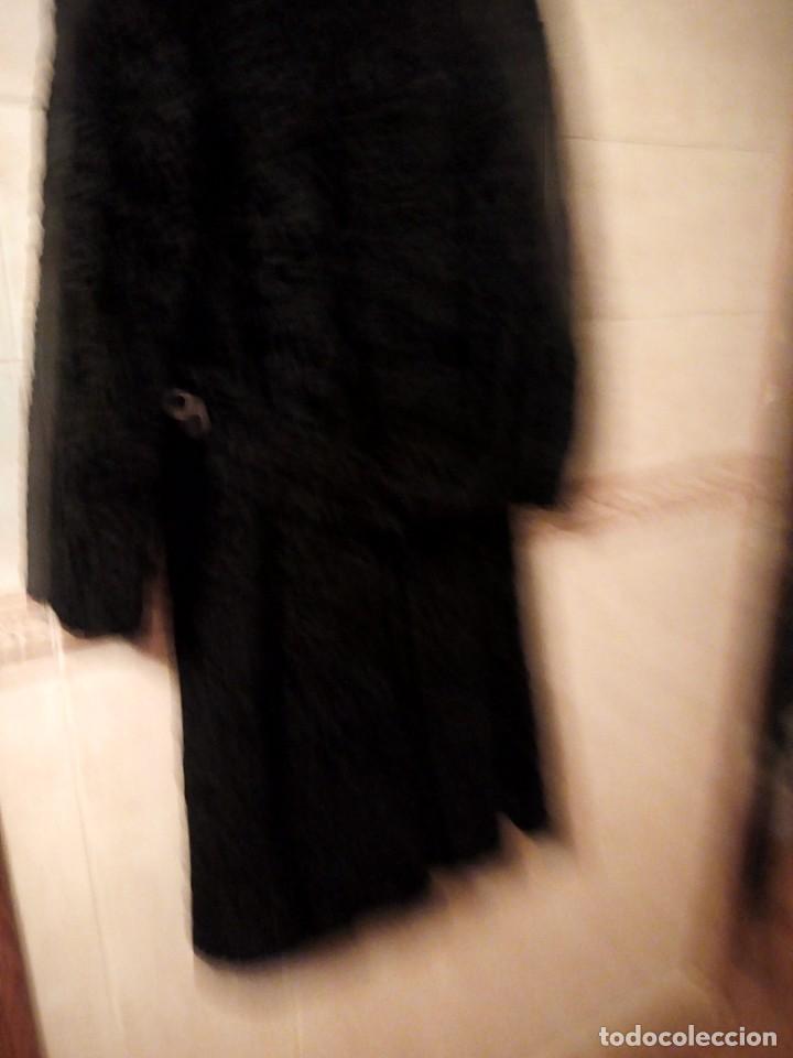 Antigüedades: abrigo de astracán autentico de los años 40-50. - Foto 8 - 147774274