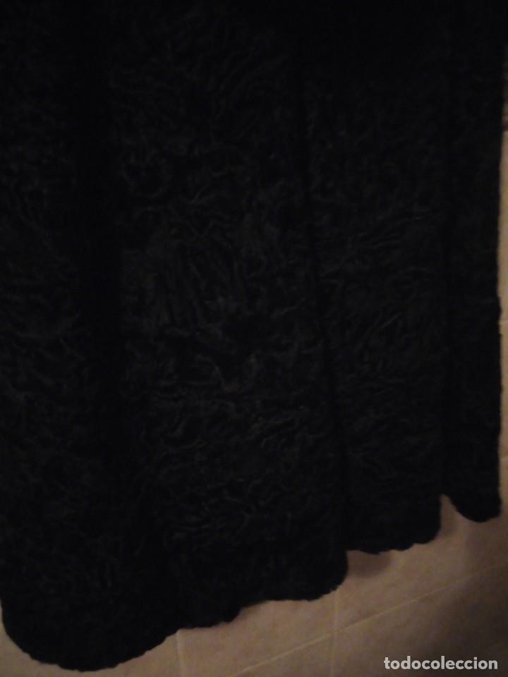Antigüedades: abrigo de astracán autentico de los años 40-50. - Foto 11 - 147774274