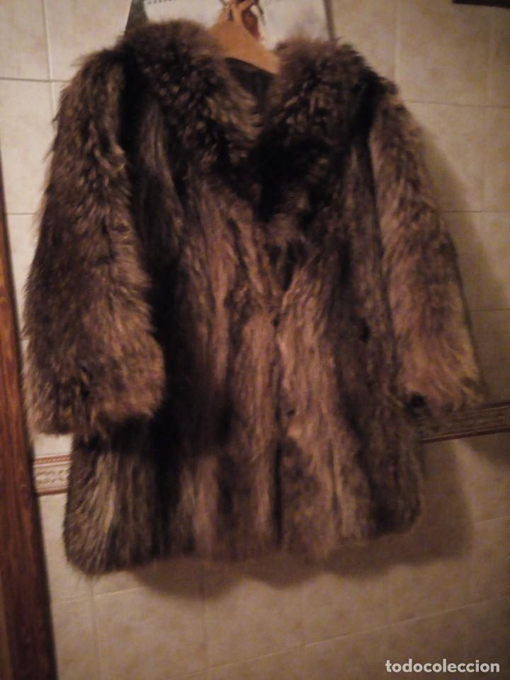 Antigüedades: Precioso abrigo de piel de zorro .w.heeklé. - Foto 2 - 147774978