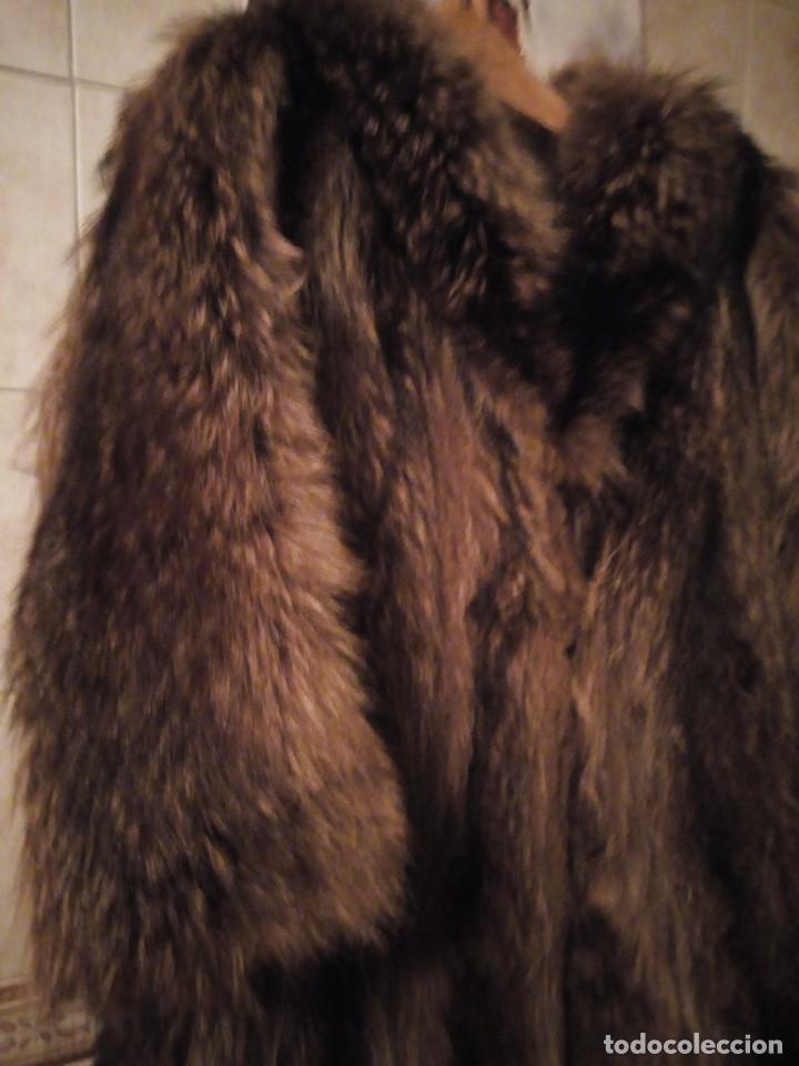 Antigüedades: Precioso abrigo de piel de zorro .w.heeklé. - Foto 3 - 147774978