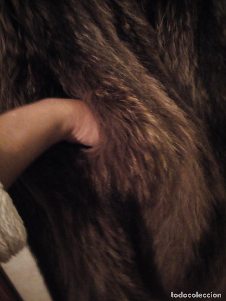 Antigüedades: Precioso abrigo de piel de zorro .w.heeklé. - Foto 4 - 147774978