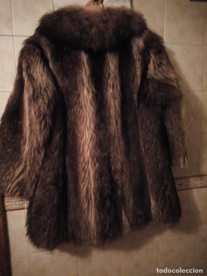 Antigüedades: Precioso abrigo de piel de zorro .w.heeklé. - Foto 7 - 147774978