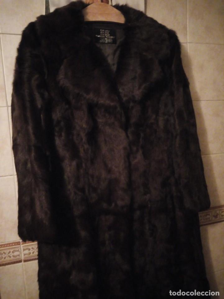 Antigüedades: Magnifico abrigo de vison. - Foto 2 - 147775618