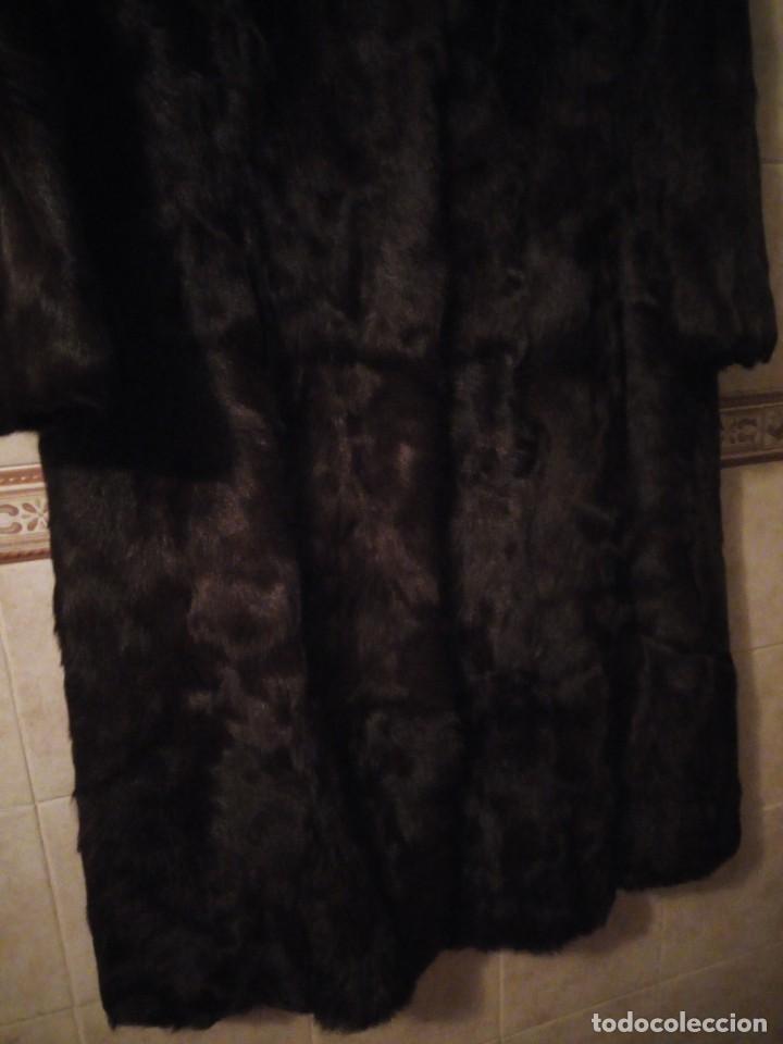 Antigüedades: Magnifico abrigo de vison. - Foto 3 - 147775618