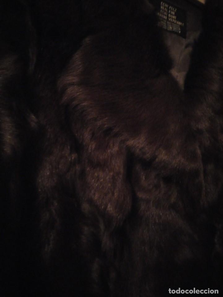 Antigüedades: Magnifico abrigo de vison. - Foto 5 - 147775618