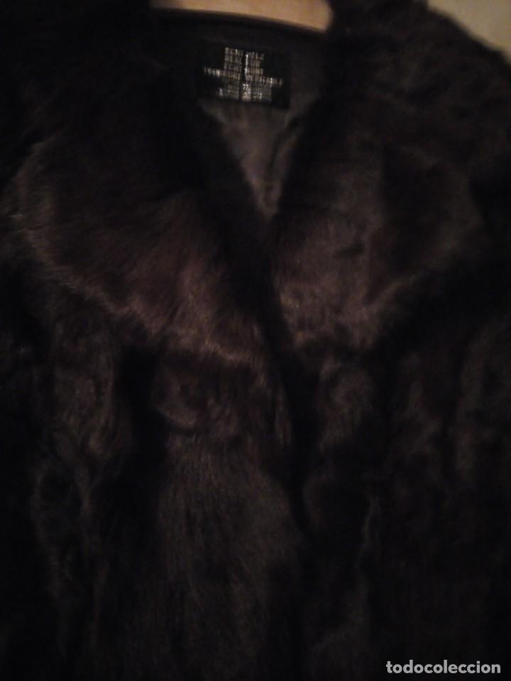 Antigüedades: Magnifico abrigo de vison. - Foto 6 - 147775618