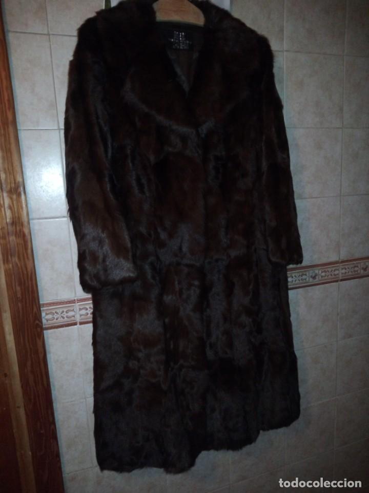 Antigüedades: Magnifico abrigo de vison. - Foto 8 - 147775618
