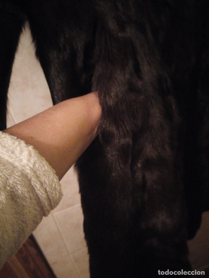 Antigüedades: Magnifico abrigo de vison. - Foto 11 - 147775618
