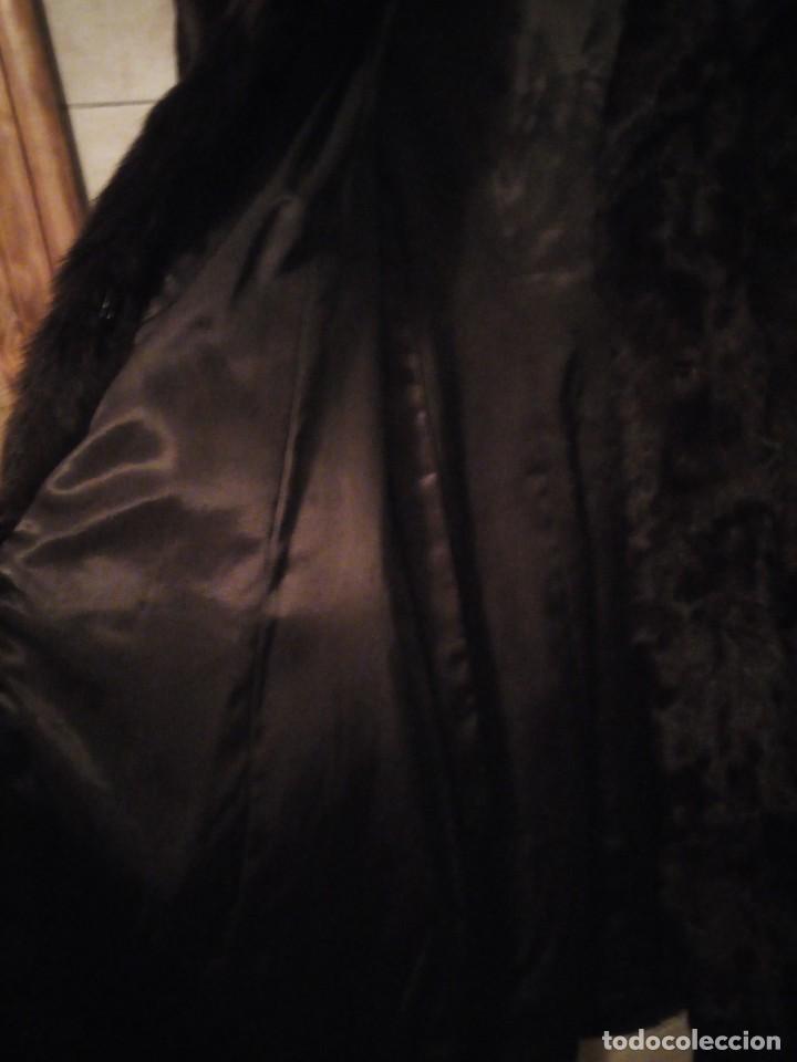 Antigüedades: Magnifico abrigo de vison. - Foto 14 - 147775618
