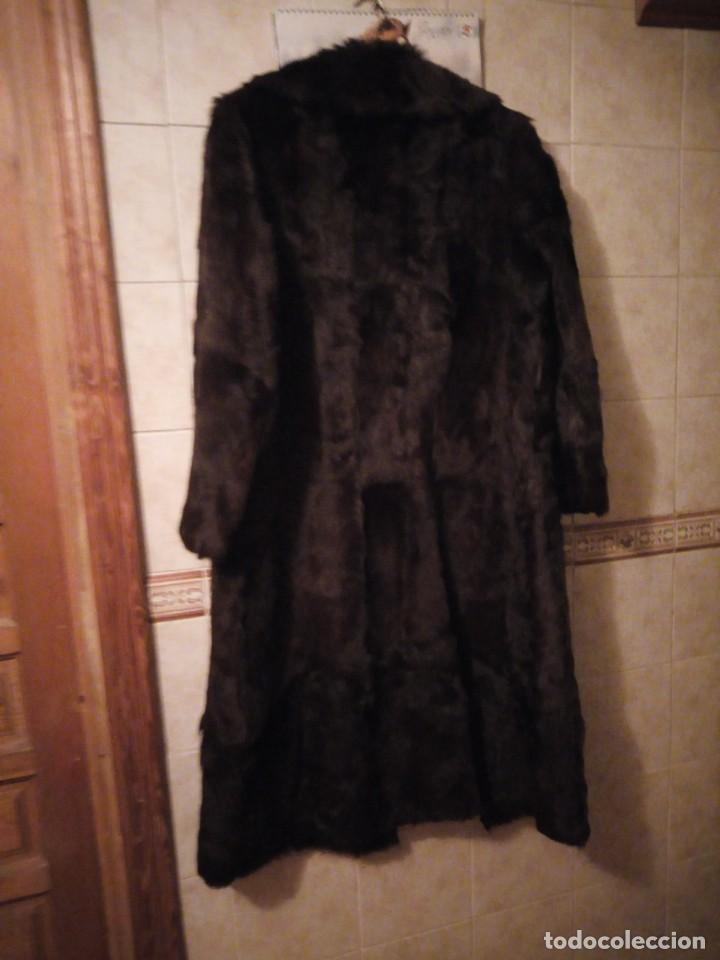 Antigüedades: Magnifico abrigo de vison. - Foto 15 - 147775618