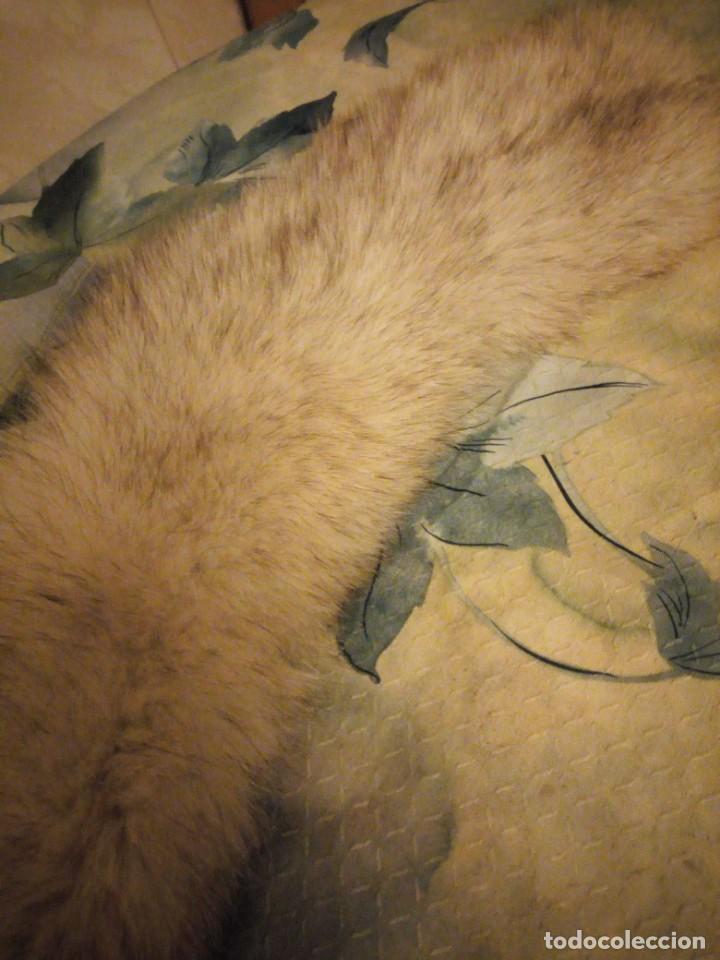 Antigüedades: Bonita estola de piel de zorro plateado. - Foto 3 - 147777202