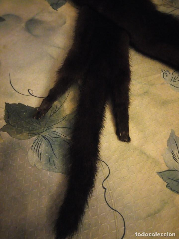 Antigüedades: Preciosa estola de vison,con patas y rabos. - Foto 3 - 147777878