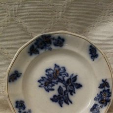 Antigüedades: PLATO PORCELANA CHINA PIC MAN. Lote 147780246