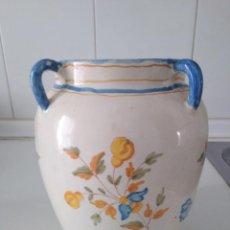 Antigüedades: ALCORA, ANTIGUA ORZA DE 4 ASAS. Lote 147787562