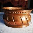 Antigüedades: JARDINERA DE COBRE. MEDIADOS SIGLO XX.. Lote 147787986