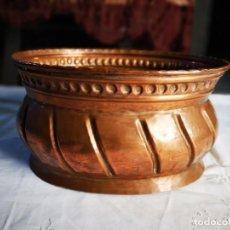 Antiques - Jardinera de cobre. Mediados siglo XX. - 147787986