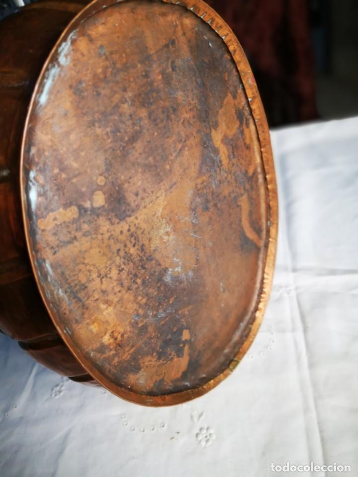 Antigüedades: Jardinera de cobre. Mediados siglo XX. - Foto 5 - 147787986
