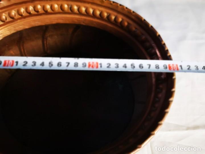 Antigüedades: Jardinera de cobre. Mediados siglo XX. - Foto 6 - 147787986