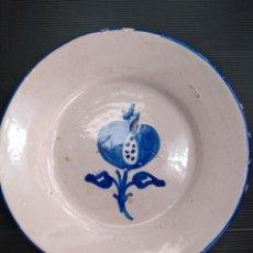 Antigüedades: FAJALAUZA, ANTIGUO PLATO. Lote 147814638