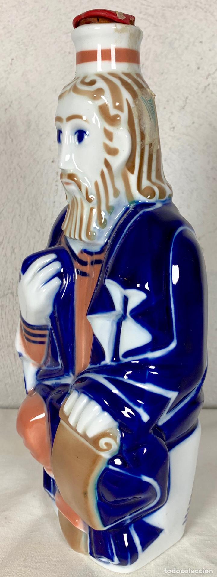 Antigüedades: Botella en porcelana de Sargadelos - Santiago el Mayor - Aguardiente descatalogada - Foto 3 - 147820048
