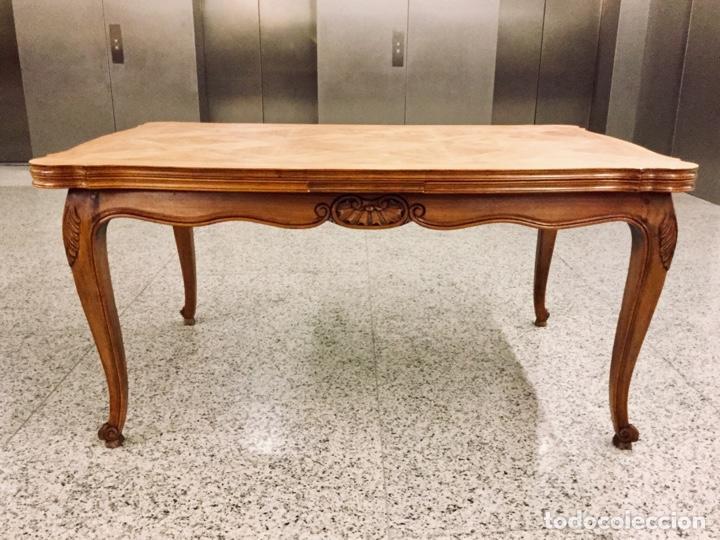 mesa de comedor estilo isabelino en madera de c - Kaufen Antike ...