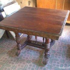 Antigüedades: MESA COMEDOR ANTIGUA. Lote 147838838