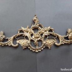 Antigüedades: PERCHERO DE BRONCE. Lote 147859682